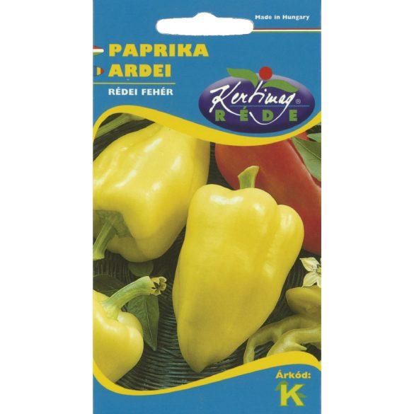 Étkezési paprika Rédei  fehér 0,5g Kert, Vetőmagok, Paprikák
