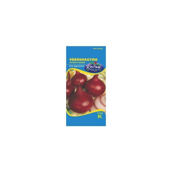 Vöröshagyma Tétényi rubin  2 g Kert, Vetőmagok, Hagyma