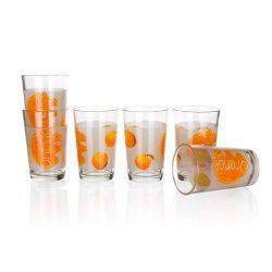 Üdítőspohár Orange 6 db-os VP501 230 ml