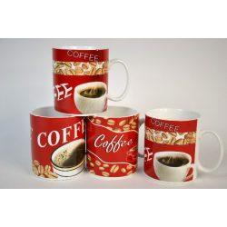 Bögre kerámia, kávé mintás 450 ml Nr.253110