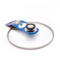 Üvegfedő acélperemes 26 cm 28320
