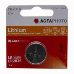 Agfa Lithium gombelem CR2016 3V