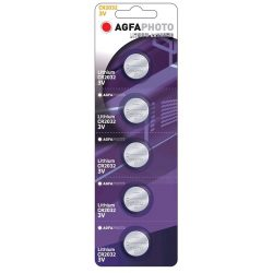 Agfa Lithium gombelem CR2032 3V