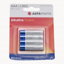 Agfa mikro ceruzaelem tartós 4 Db/bliszter