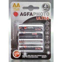 AgfaPhoto Ceruza elem Ultra AA/LR6 1,5V 4 db-os Nr.APUAA