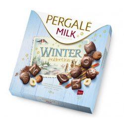 """Pergalé töltött praliné """"Winter"""" tejcsokoládé válogatás 125 g"""