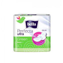 Bella Perfecta Green egészségügyi szárnyas betét, 10 db/csomag