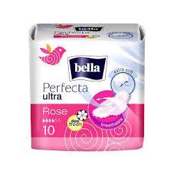Bella Perfecta Rose Deo Fresh egészségügyi szárnyas betét, 10 db/csomag