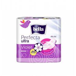 Bella Perfecta Violet Deo Fresh egészségügyi szárnyas betét, 10 db/csomag