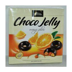 Choco Jelly csokoládéval bevont narancsízű zselé 175 g
