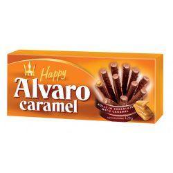 Happy Alvaro karamell ízű krémmel töltött ostyarúd 120 g