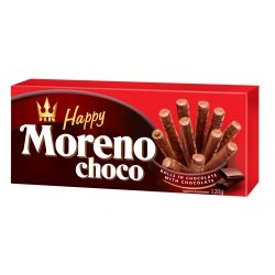 Happy Alvaro étcsokoládé ízű krémmel töltött ostyarúd 120 g