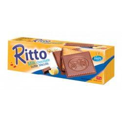 Ritto keksz tejcsokoládéba félig mártva 125 g