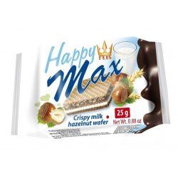 Happy Max mogyorós izű töltöttostya 25 g