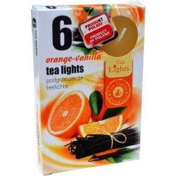 Illatmécses vanília-narancs 6 db-os