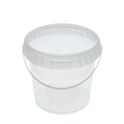 Vödör+tető 2750 ml (D2700+D2001) vízztiszta