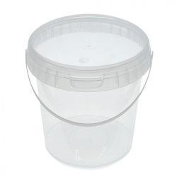 Vödör+tető 5600 ml (D5000+D5001) víztiszta