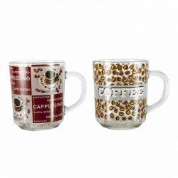 Kávés pohár üveg C. Nr.180054