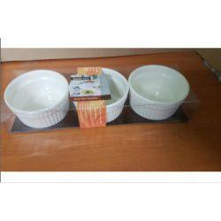 Sütőtálka kerámia 3 db-os M5-113