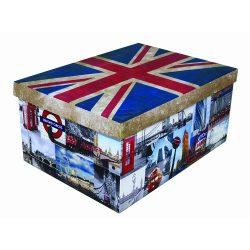 Tárolódoboz maxi zászló Nagy-Britannia