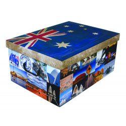 Tárolódoboz maxi zászló Ausztrália