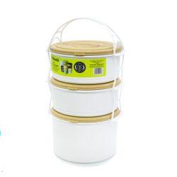 Éthordó 2+1-es műanyag