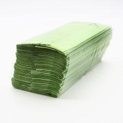 Kéztörlő Z-papír zöld 250db/cs