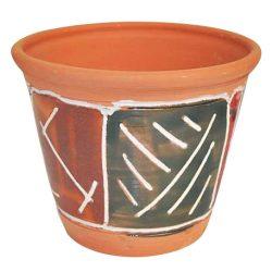 Kaspó közepes mozaikos kerámia