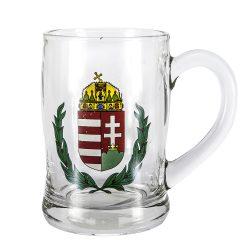 Söröskorsó modern magyar címers 4dl 211035