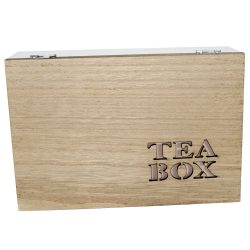 Teafilter tartó 6 rekeszes 23x16x7 cm vintage 4 féle 600976