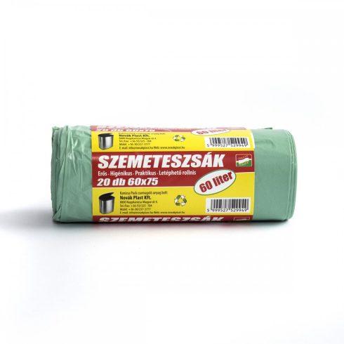Szemeteszsák 60x75 cm (60 l) 20 db/csomag