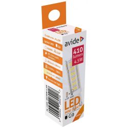 Avide Led mini G9 4,5W Nr. ABG9NW-4,5W