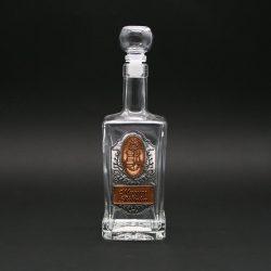 Ón címkés palack, king 0,5L címer