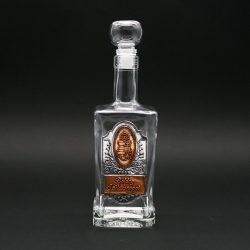 Ón címkés palack, king 0,5L születésnap