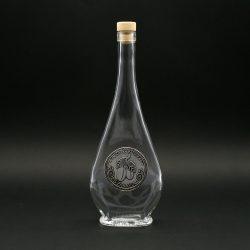 Ón címkés palack, liabel 0,5L szilva