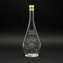 Ón címkés palack, liabel 0,5L barack