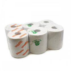 """Kéztörlőpapír ipari nagy 2rt 19 cm 6 db/cs """"TUTI"""""""