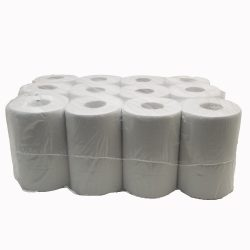 Kéztörlőpapír belső kihúzású, kétrétegű, 14 cm fehér 12 db/csomag