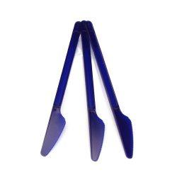 Eldobható evőeszköz kés sötétkék 20 db