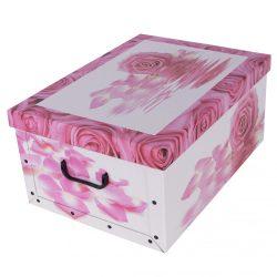 Tárolódoboz maxi Rózsa ( rózsaszín,piros )