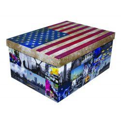 Tárolódoboz maxi zászló USA