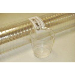 Röviditalos pohár 2 cl/4 cl/5 cl (egyszer használatos) 40db/csomag
