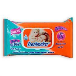 EKO Freshmaker visszazárható baba törlőkendő 72 lap/csomag