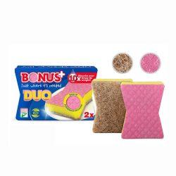 Mosogatószivacs karcmentes 2 db-os Bonus Duo (B146)