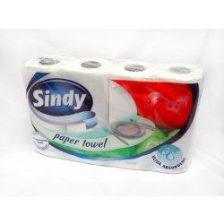 Sindy kétrétegű papírtörlő 4 tekercs/csomag