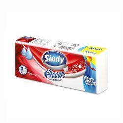 Sindy Classic háromrétegű papír zsebkendő 100 db/csomag