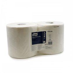 Kéztörlőpapír ipari Tork basic 2 rétegű 24 cm Fehér Prémium 2 tek/cs