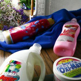 Mosópor, mosószer, öblítő, folttisztító