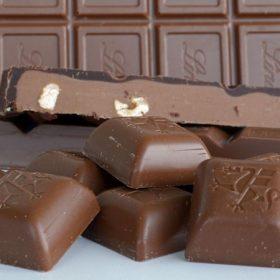 Csokoládé, praliné